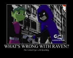 What's  Wrong With Raven? by Puglover24