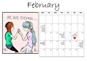 MT Calender: February by Manga-Tutorials