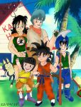 Dragon Ball gender bent by Betty26Blue