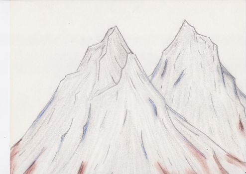 Mountains by RedWolf75