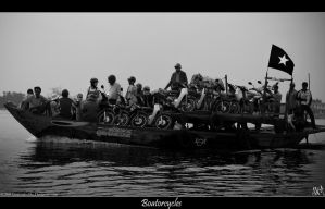 Vietnam - Boatorcycle by CorporalNobbs