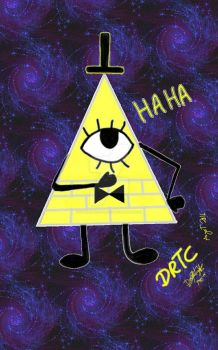 Bill Cipher anywhere in Space by Danish-Rose-DRTC