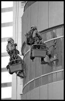 Window Washers by Shoayb