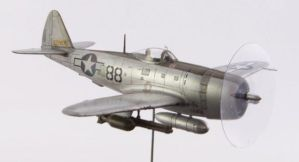 1/72 scale Academy P-47D 2nd view by Nixod321