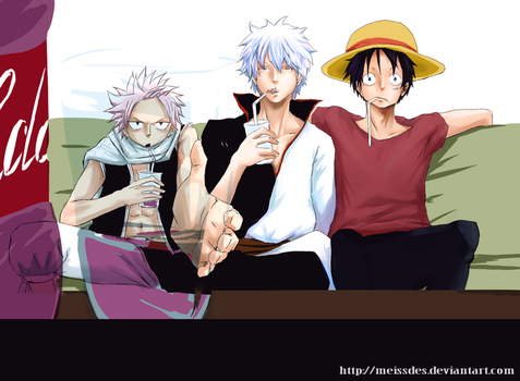FT,Gintama,OP VS NarutoFillers by meissdes