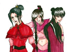 Ozai's Girls by Maurexen