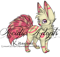 CLOSED - Kitsune Adopt by AcidicAdopts