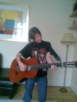 me playing my Guitar by Tokio-Hotel-Mad