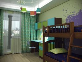 children's room by PavelLi86