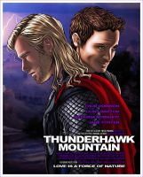 Thunderhawk Mountain Fake Movie Poster by Ede1986