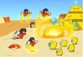 Carbot StarCrafts LOTV : reapers of grenade by CountryGump