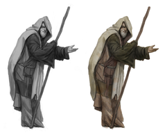 beggar/spy - concept art by n-pigeon