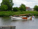 Boat on the canal Ghent Ostend by Wimmeke63