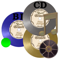 Steampunk Gnome Disc Icons by pendragon1966