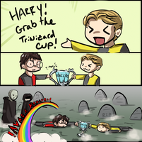 Grab the Triwizard Cup by RiverNinj4