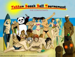 Tekken Beach Ball Tournament - completed by NyRiam