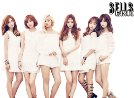 Apink - PNG [render] by Sellscarol