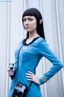 Spock by DiroPetra