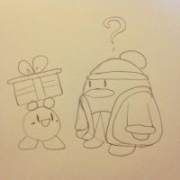 PRESENT FOR DEDEDE by Tannermema