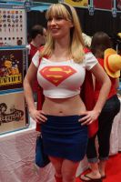 NYCC 2012 - Supergirl 2 by kamau123