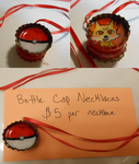 Bottle Cap Necklace Info by MissChibiChild