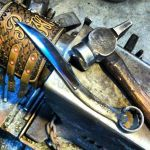 Wrench Knife bottle opener by isolatedreality