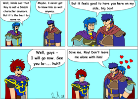 Good bye Roy, maybe by Kurvos