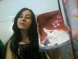 Victoria Frances watercolor - finished by Nandanyx