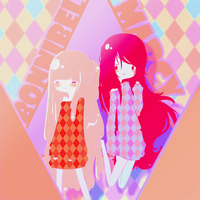 Marcy and Bonnibel by NorioKoike