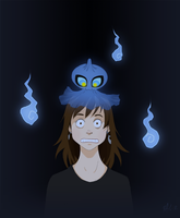 That One Day When I Had a Shuppet On My Head by BeeInDreaming