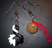 Shin Angyo Onshi Earrings by Midna-After-Midnight
