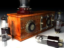 Antique Electronics still life by octopus7