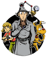 Inspector Gadget by CartoonSilverFox