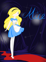 Alice in Wonderland by minty-red