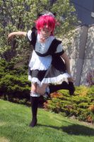 Maid Rin - Get These Heels OFF Me! by Midnight-Dare-Angel