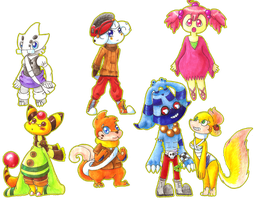 PKMN-Crossing Characters 1 by EraGam