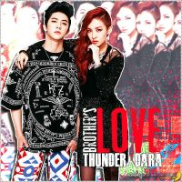 Thunder and Dara by MonicaZC