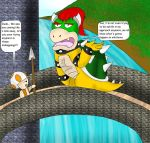 Bowser's not even trying anymore by kingofthedededes73