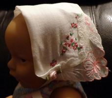 Baby N bonnet 8-2-14 by wiccanwitchiepoo