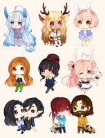 Cheeb Batch 9 by riicu