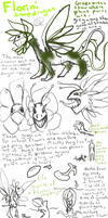 Florini Snapdragon species ref wip by Ningeko16