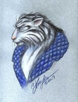 Blue Tiger by MommySpike