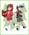 Pines Twins by SkyDrew