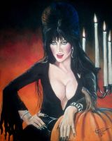 Elvira Mistress of the Dark by ZomBieTOmmm
