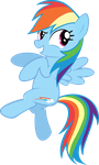 Cheeky Rainbow Dash  Vector by XBoomdiersX