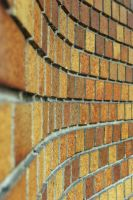 Curvy Brick Wall by KameleonKlik
