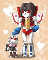 Starscream's little leader by f19850928