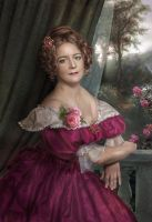 Portrait of a Lady by Lotta-Lotos