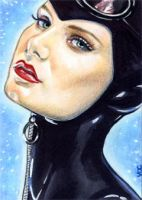 Catwoman Sketch Card 2 by veripwolf