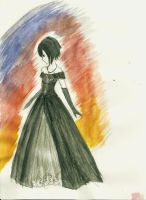 WatercolorPractice-Formal Xion by ElphabelleDaae13